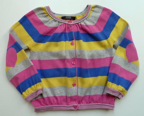 Úpletové tričko s dlouhým rukávem triko vel. 104 , george,104