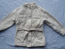 Jarní plátěný kabátek, c&a,116