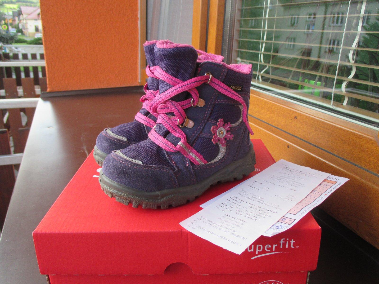 Zimní boty s gore-tex 06c71785d3