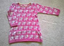 Podzimní šaty nebo delší svetřík 18-24 měs., bluezoo,92