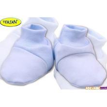 Botičky/ponožtičky bavlna - sv. modré, <17