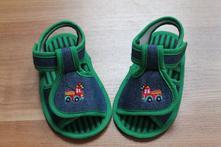 Chlapecké sandálky s hasičským autem 68/74, kik,<17