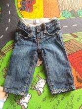 Zateplene jeansy, gant,68