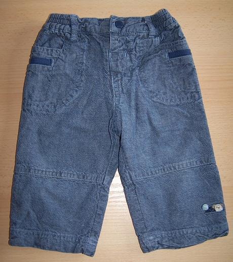Kalhoty zateplené vel. 3 - 6m, tu,68