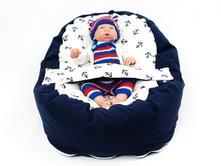 Pelíšek, hnízdečko pro miminko, bavlna kotvy, 50,70