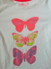 Bavlněné tričko y&d s motýli, young dimension,116