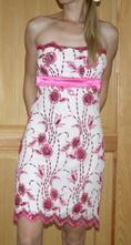 Zn.bay šaty růžové vel 38, bay,38