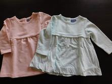 2x mikinové šaty, 68