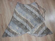 Vzorovaná sukně vrstveného vzhledu, 38