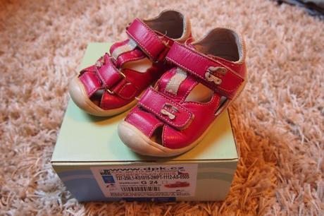 Sandálky, dpk,24