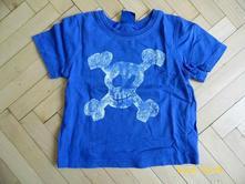Bavlněné triko s lebkou, cherokee,86
