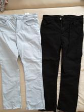 2x kalhoty, cena celkem, možno i jednotlivě, h&m,146