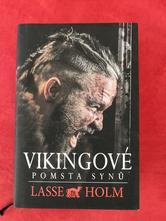 Kniha vikingové pomsta synů - lasse holm,