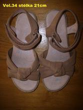 Sandále na holku, 34