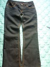 Dámské džíny, rifle s rozšířenými nohavicemi l/xl., c&a,42