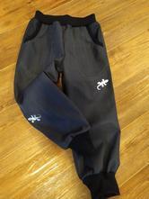 Jarní softshellové kalhoty, 80 - 146