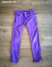 Hezke dziny/kalhoty vel. 128 denim h&m, denim,128