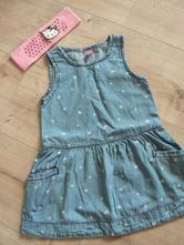 Riflové šaty s motýlky, dopodopo,92