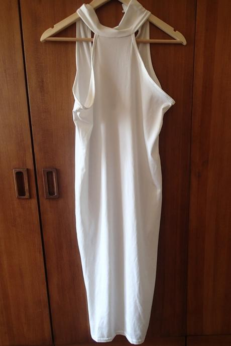 Letní bílé šaty, m