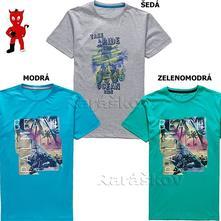 Bavlněné triko pro kluky, 140-158, wolf, wolf,140 / 146 / 152 / 158