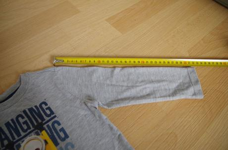 Tričko s dl. mimoni, 98