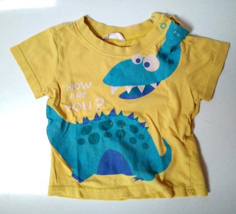 M269 - tričko s dinosaurem, 80