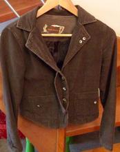 Manžestrové sáčko/kabátek, xs