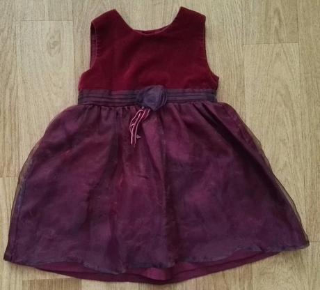 Slavnostní šaty, mothercare,80
