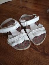 Kožené sandálky, 22