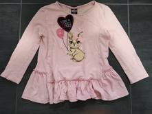 Růžové triko / tunika, kiki&koko,98