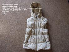Oboustranná vesta s kapucí , xs