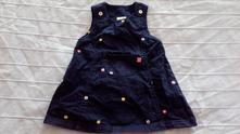 Šatovka, džínové šaty, 74
