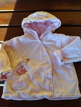 Vyteplená bavlněná mikina - kabátek next, next,86