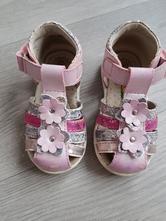Růžové sandálky, baťa,21