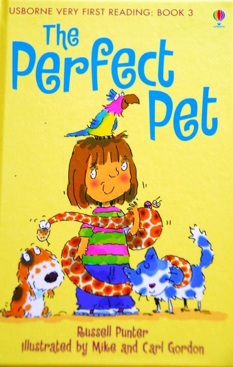 Anglická kniha pro nejmenší the perfect pet,