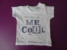 Mothercare triko s nápisem, mothercare,62