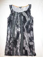 Super černobílé hadí šaty, street one,36 / s