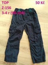 Bavlněné kalhoty - kapsáče, george,104