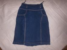 Výprodej-riflová sukně, 146
