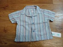 Košile s proužkem, baby mac,68