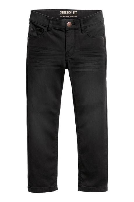 Strečové džíny h&m, velikost 92, h&m,92