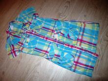 Letní duhové propínací šaty, okay,140