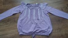 Vzdušná fialová tunika next, next,116