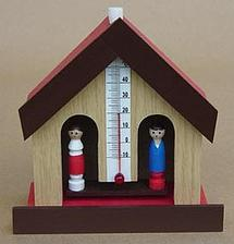 A ještě domeček na počasí, to se mi v dětství taky hrozně líbilo:-).