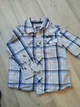 Košile h&m světle modrá, h&m,98