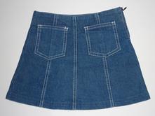 Riflová suknička, vel. 98, 98