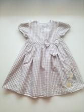 Kostkované šaty, disney,80