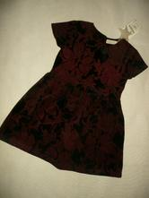 Luxusní šaty teplé vel 7 let 122, zara,122
