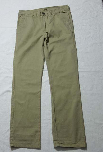 Kalhoty slim vel. 12 - 13 let, denim co,158
