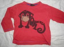 Opičkové tričko monkey, next,92